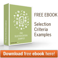 free selection criteria examples