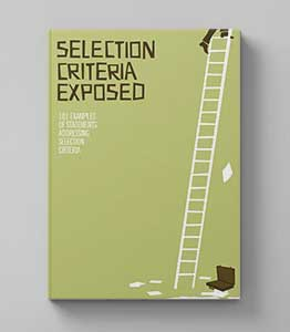 selection criteria exposed image